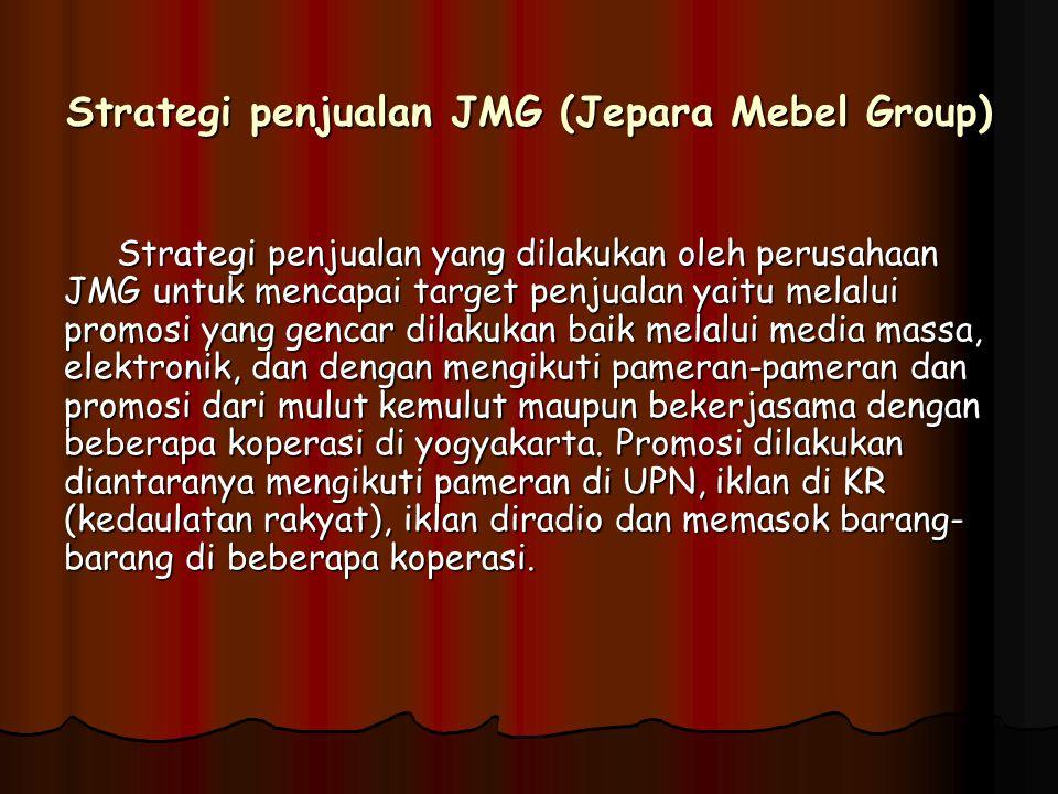 Strategi penjualan JMG (Jepara Mebel Group)