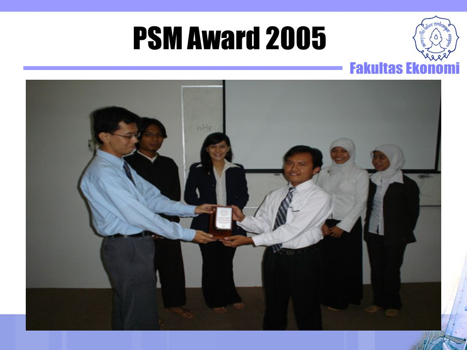 PSM Award 2005
