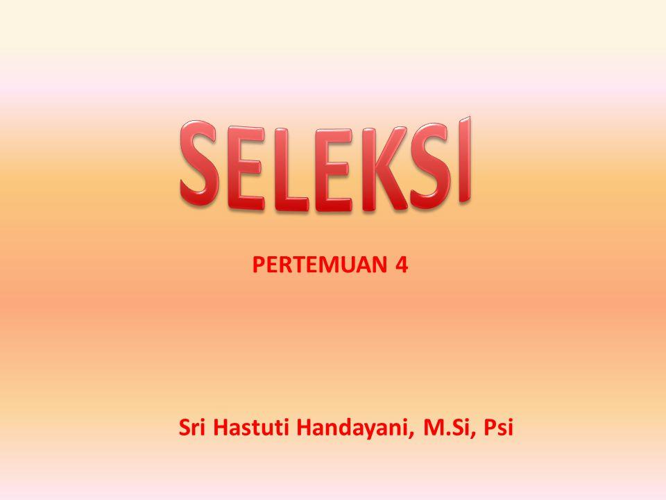 Sri Hastuti Handayani, M.Si, Psi