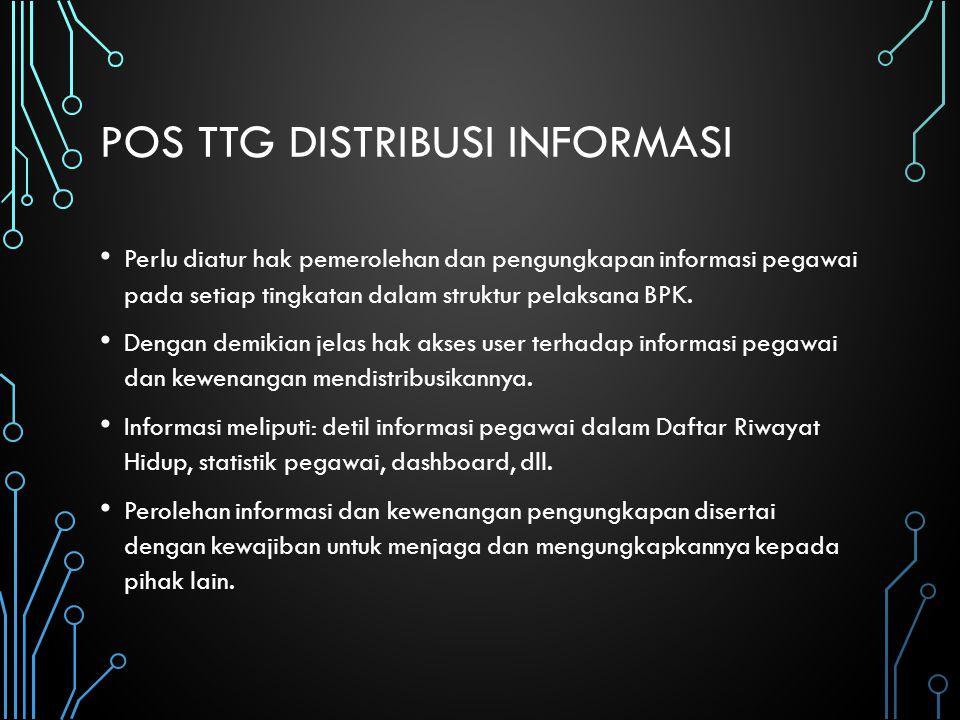 Pos ttg distribusi informasi