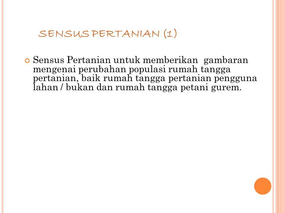 SENSUS PERTANIAN (1)