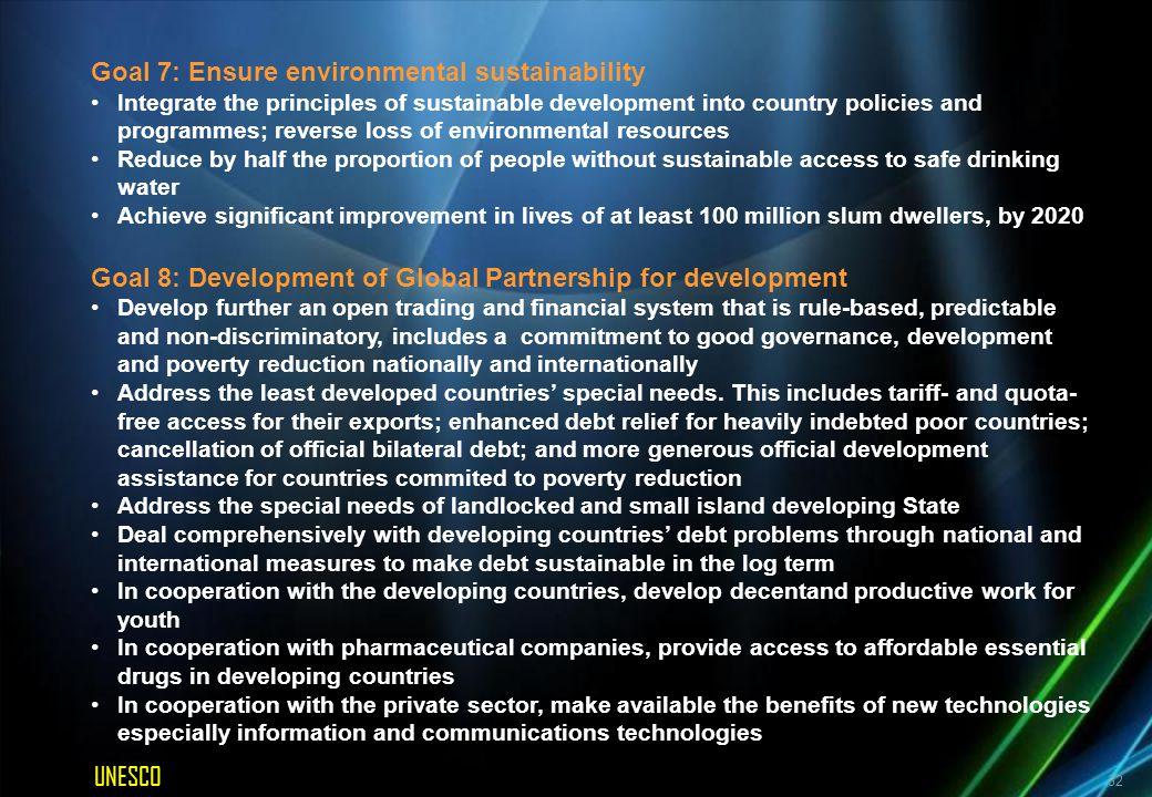 The Dakar Framework – Education For All (2000)