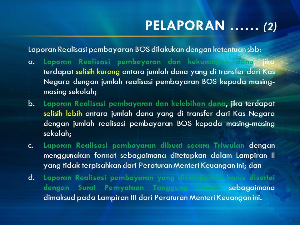 PELAPORAN …… (2)