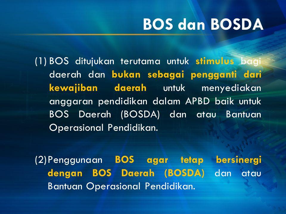 BOS dan BOSDA