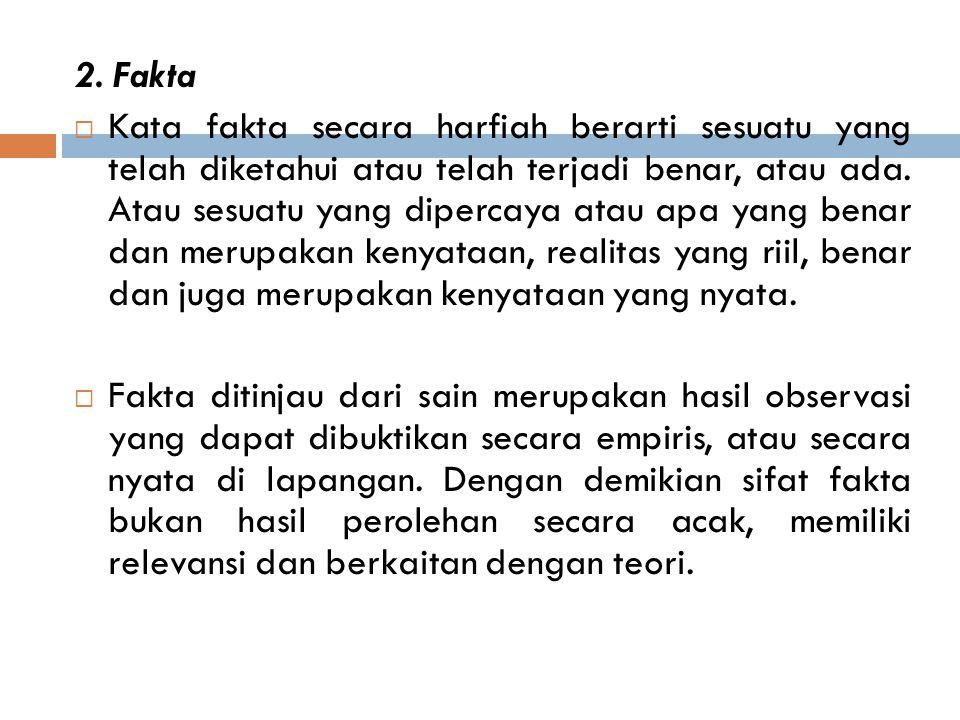 2. Fakta