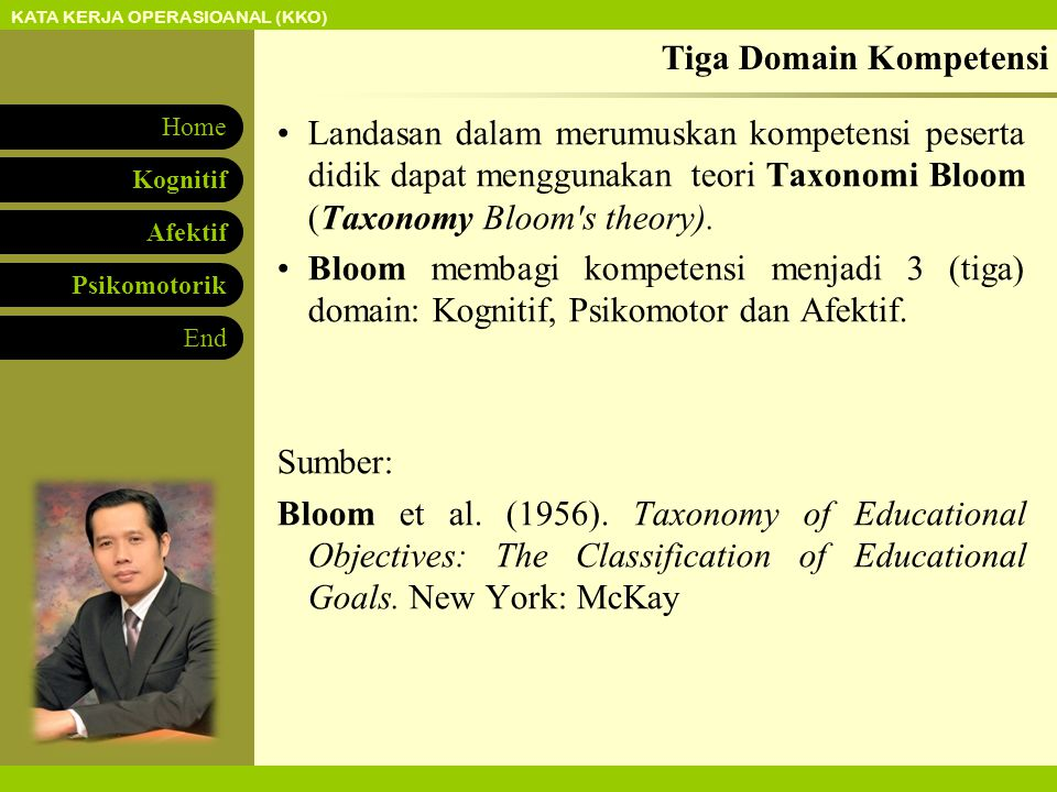 Tiga Domain Kompetensi