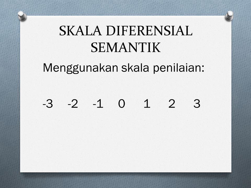 SKALA DIFERENSIAL SEMANTIK