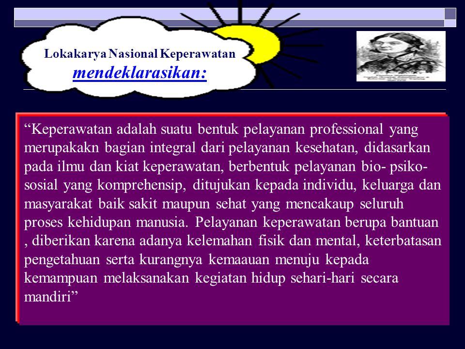Lokakarya Nasional Keperawatan