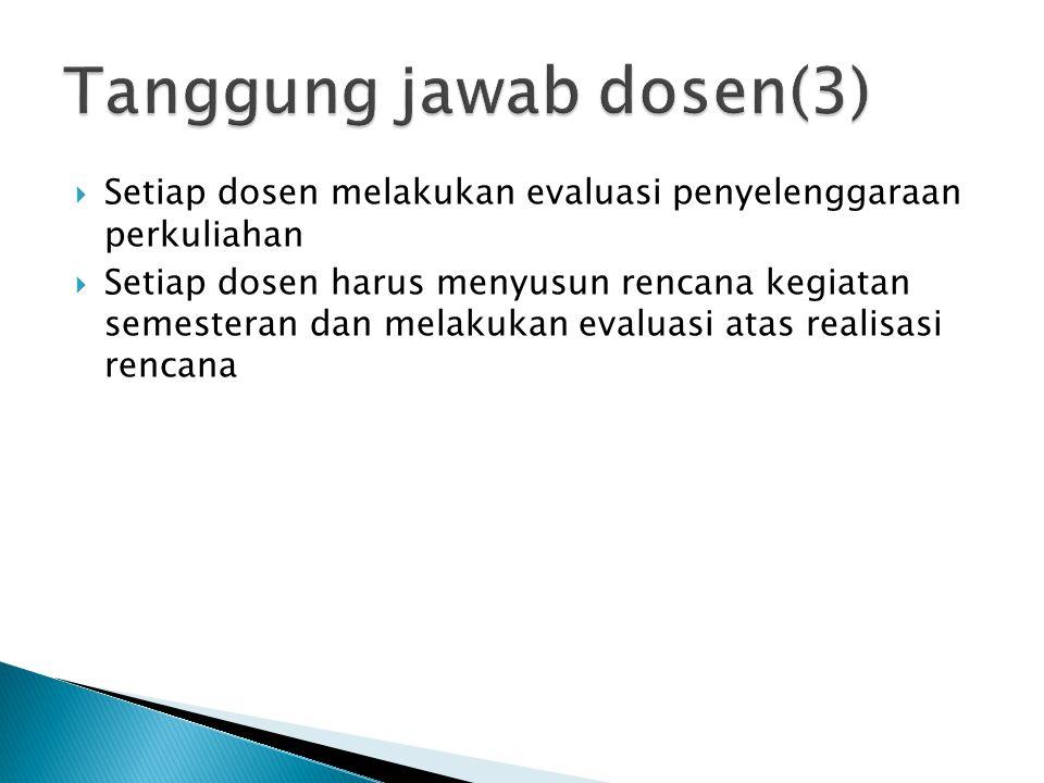 Tanggung jawab dosen(3)