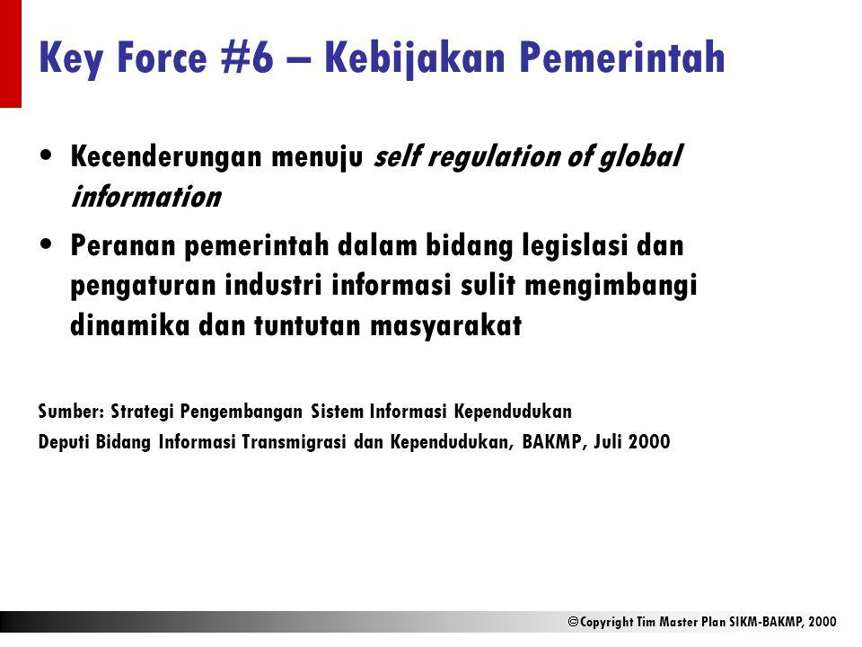 Key Force #6 – Kebijakan Pemerintah