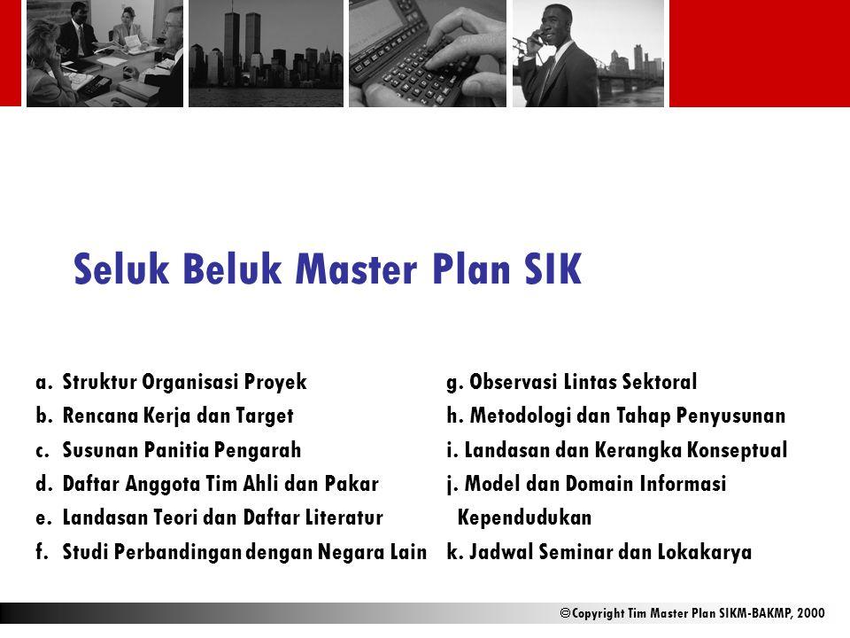Seluk Beluk Master Plan SIK
