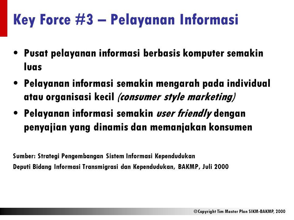 Key Force #3 – Pelayanan Informasi