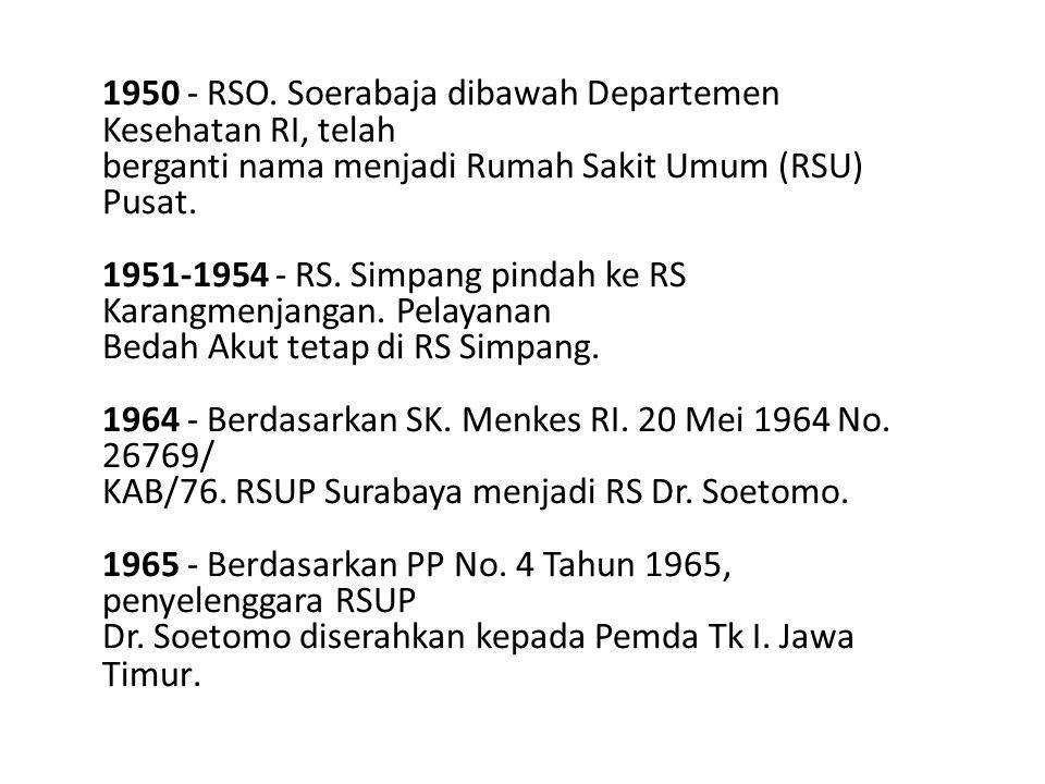 1950 - RSO.