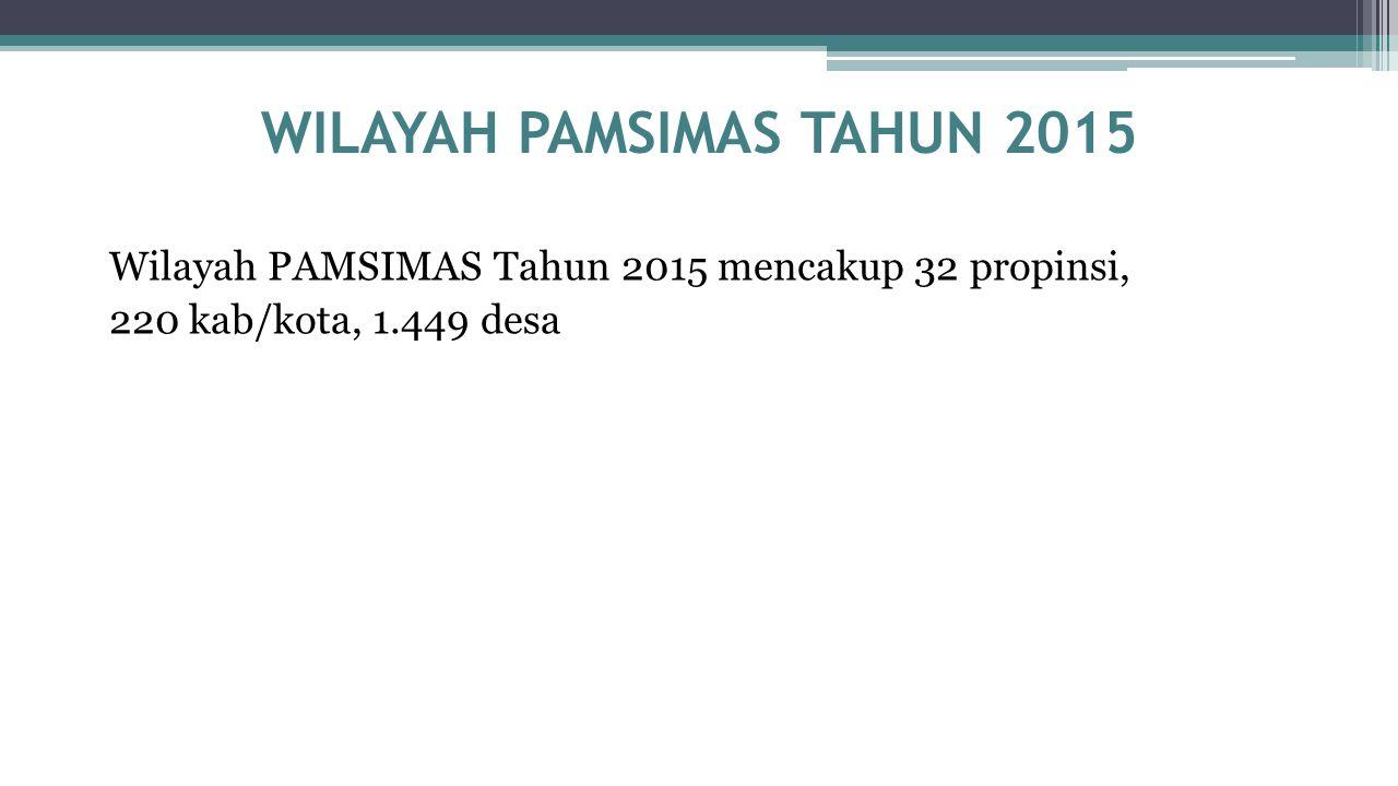 WILAYAH PAMSIMAS TAHUN 2015