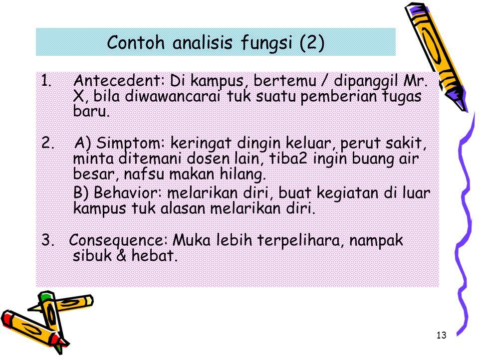 Contoh analisis fungsi (2)