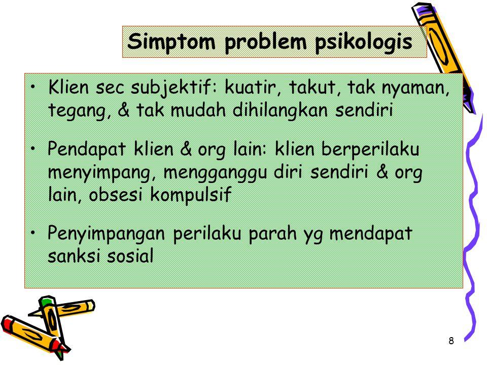 Simptom problem psikologis