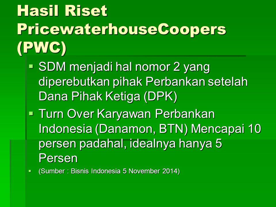 Hasil Riset PricewaterhouseCoopers (PWC)