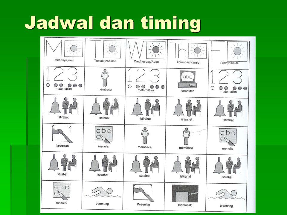 Jadwal dan timing
