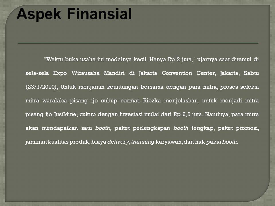 Aspek Finansial