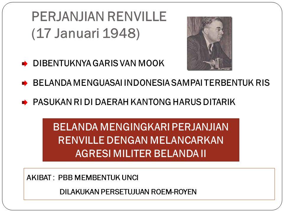 PERJANJIAN RENVILLE (17 Januari 1948)