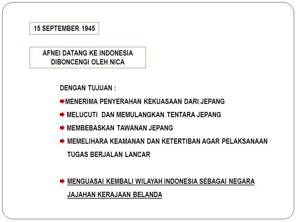 AFNEI DATANG KE INDONESIA DIBONCENGI OLEH NICA
