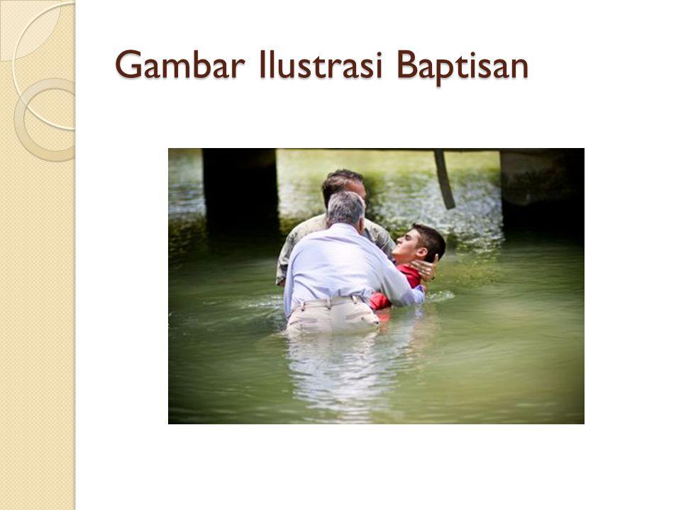 Gambar Ilustrasi Baptisan