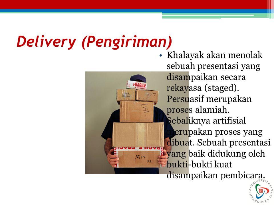 Delivery (Pengiriman)
