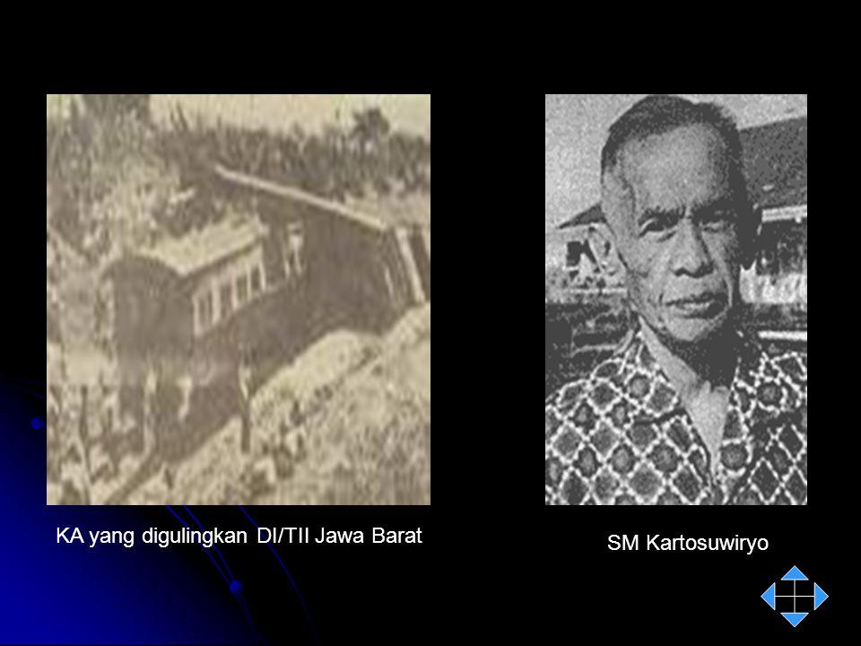 KA yang digulingkan DI/TII Jawa Barat