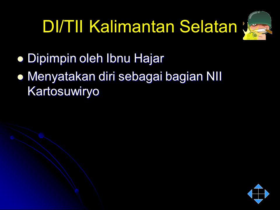 DI/TII Kalimantan Selatan