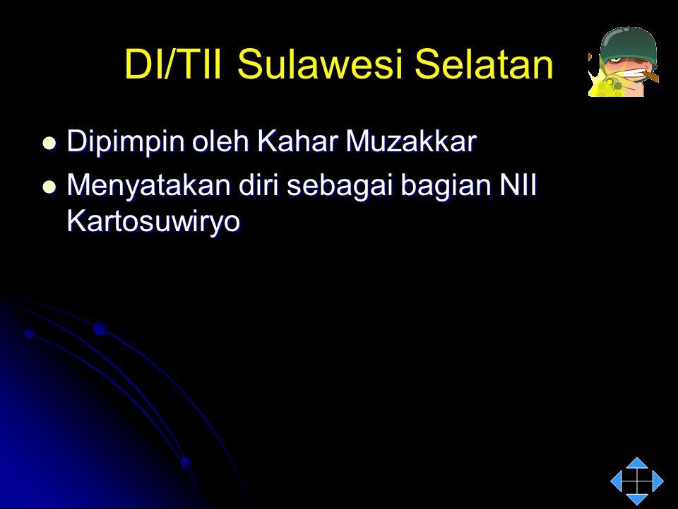 DI/TII Sulawesi Selatan