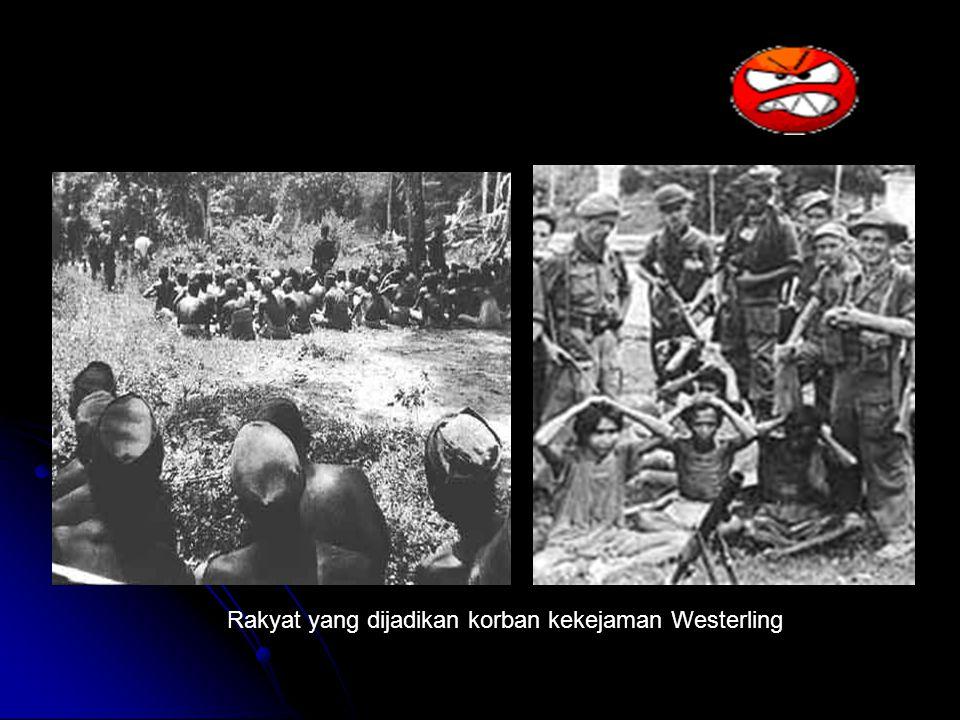 Rakyat yang dijadikan korban kekejaman Westerling