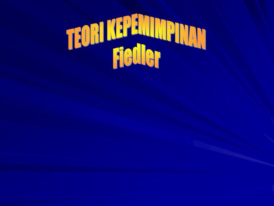 TEORI KEPEMIMPINAN Fiedler