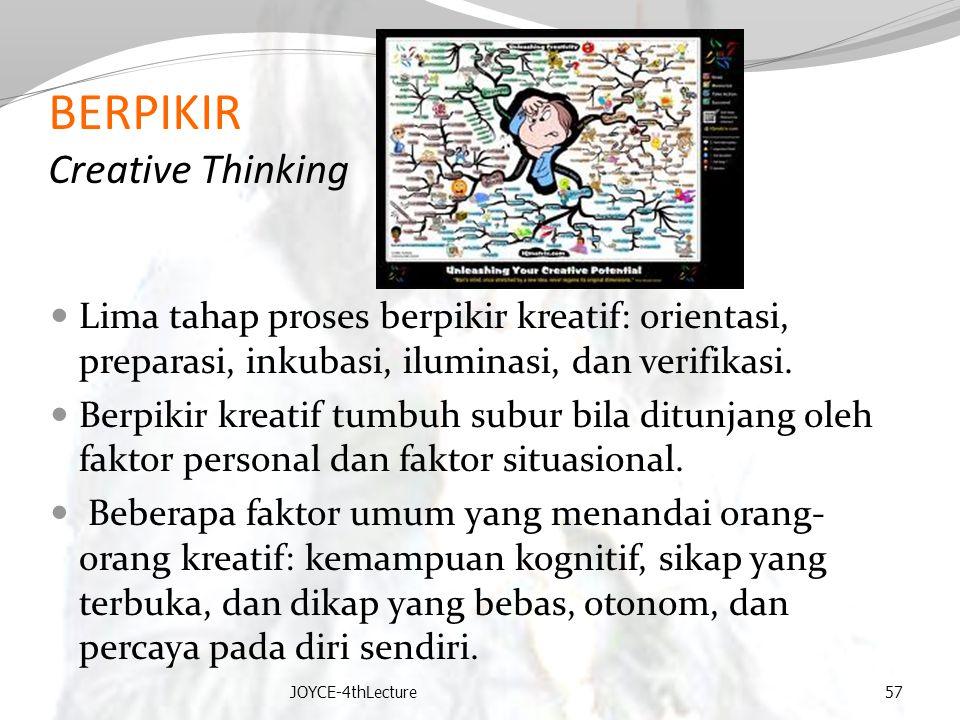 BERPIKIR Creative Thinking