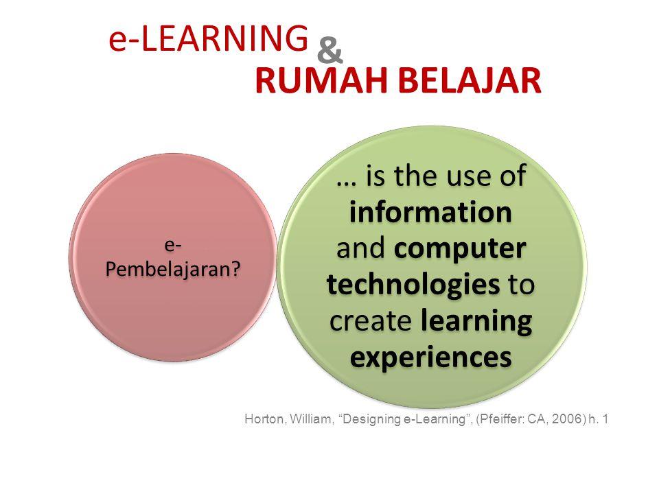 e-LEARNING & RUMAH BELAJAR