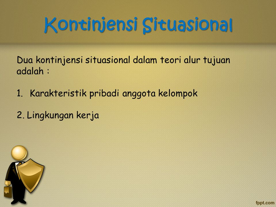 Kontinjensi Situasional