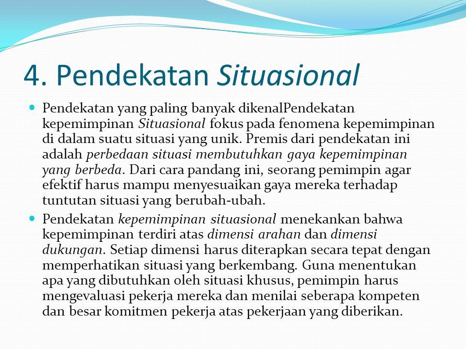 4. Pendekatan Situasional