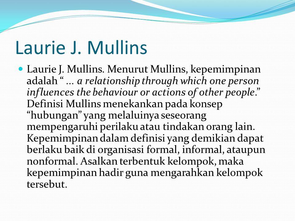 Laurie J. Mullins