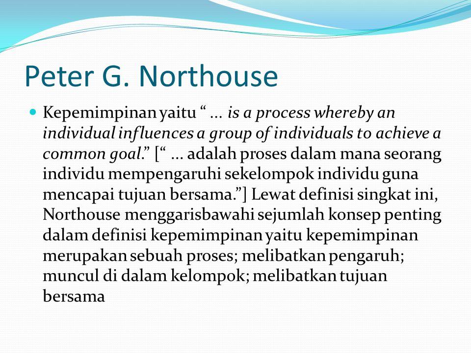 Peter G. Northouse