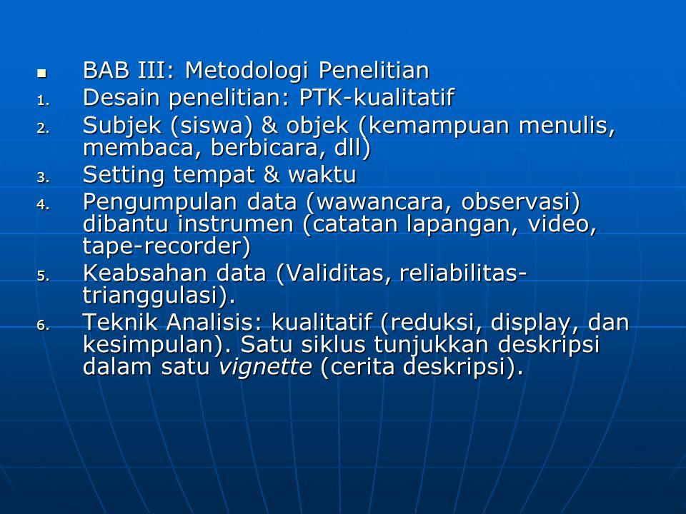 BAB III: Metodologi Penelitian