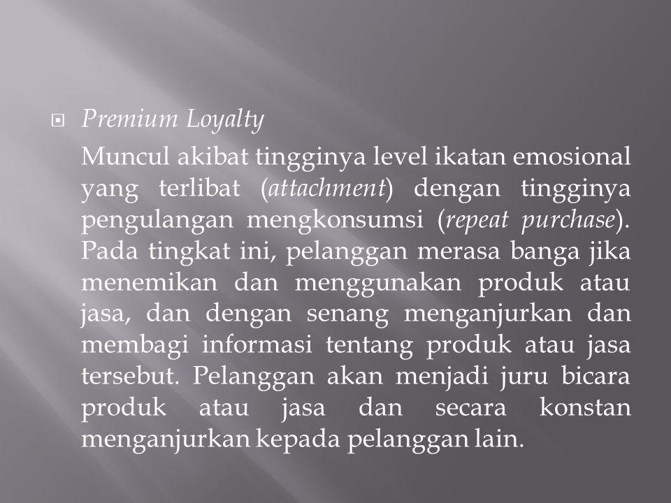 Premium Loyalty