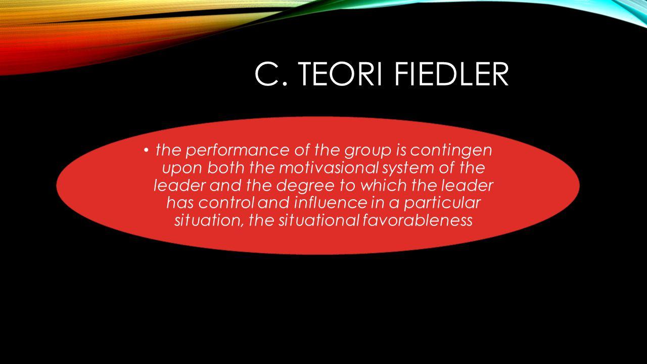 C. Teori Fiedler