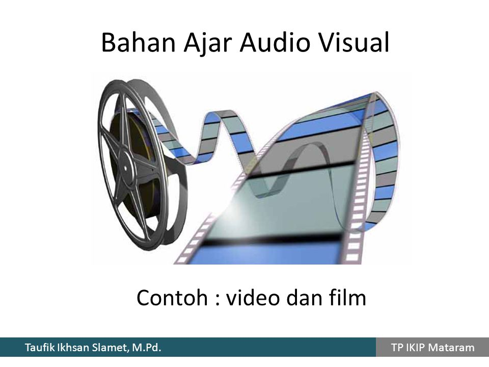 Bahan Ajar Audio Visual