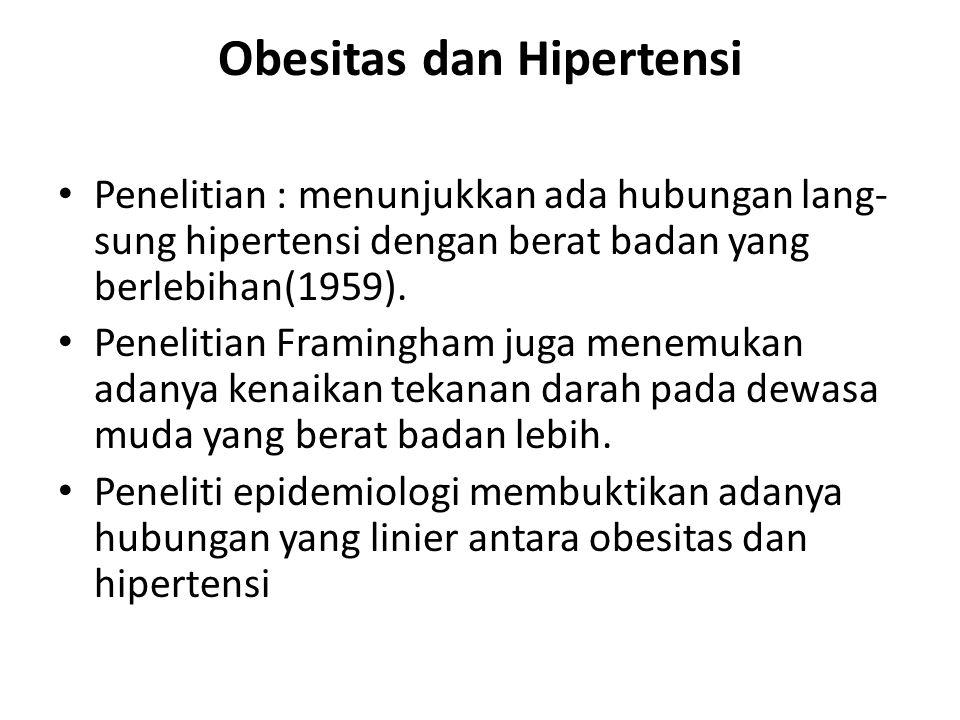 Obesitas dan Hipertensi