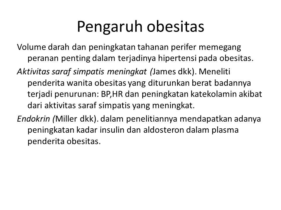 Pengaruh obesitas