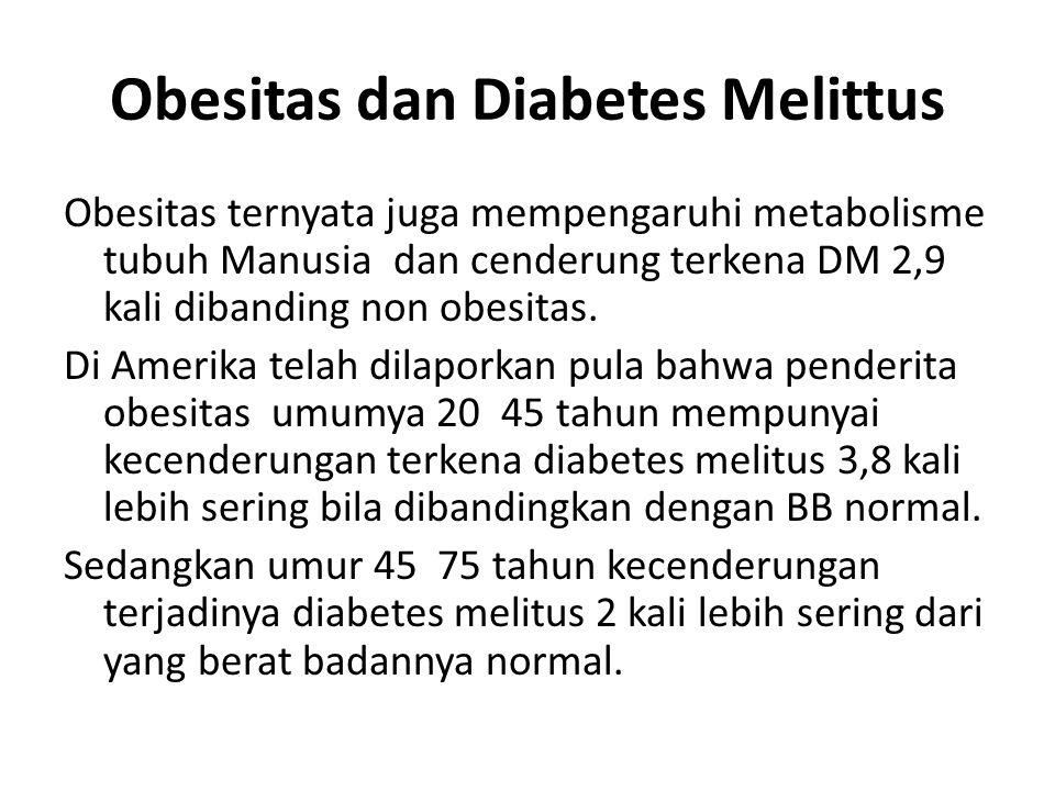Obesitas dan Diabetes Melittus