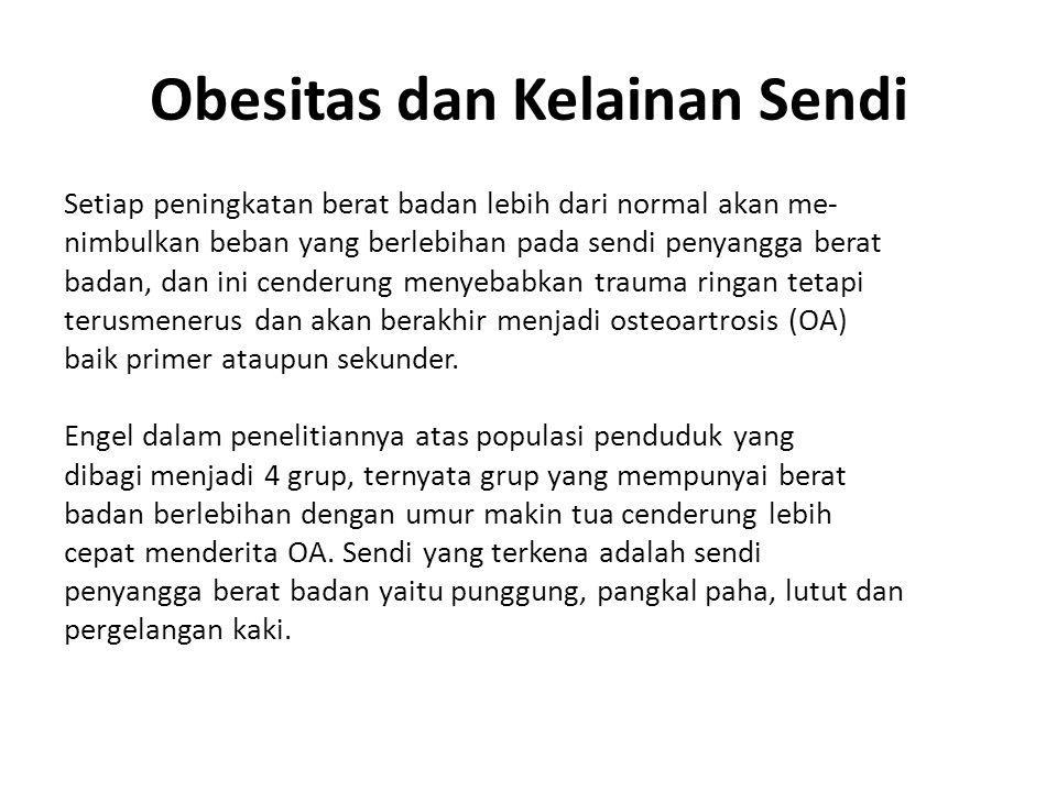 Obesitas dan Kelainan Sendi