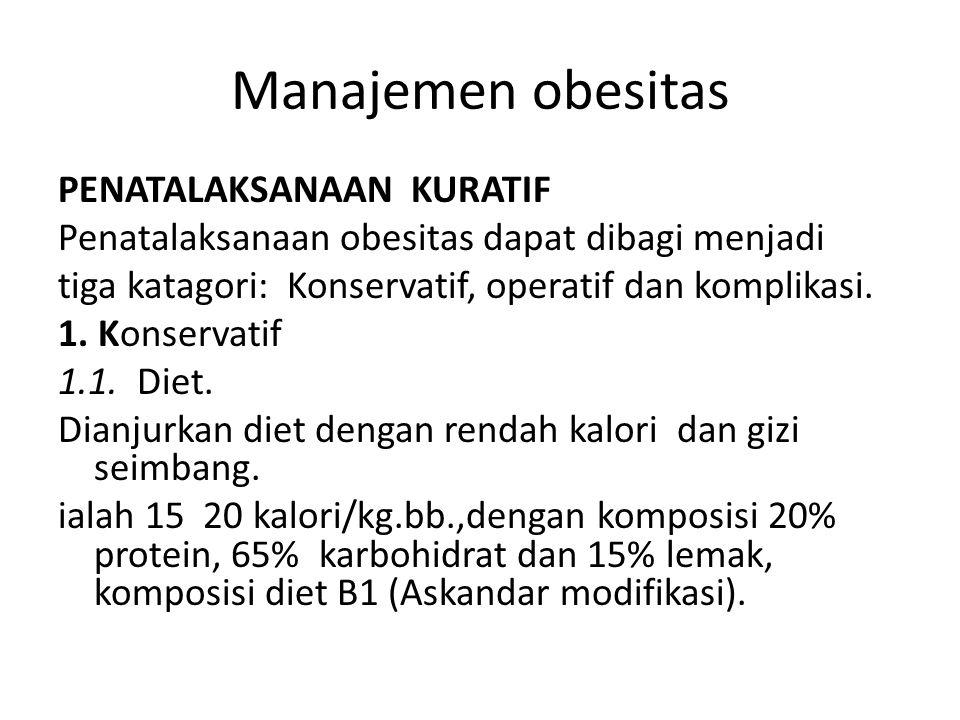 Manajemen obesitas