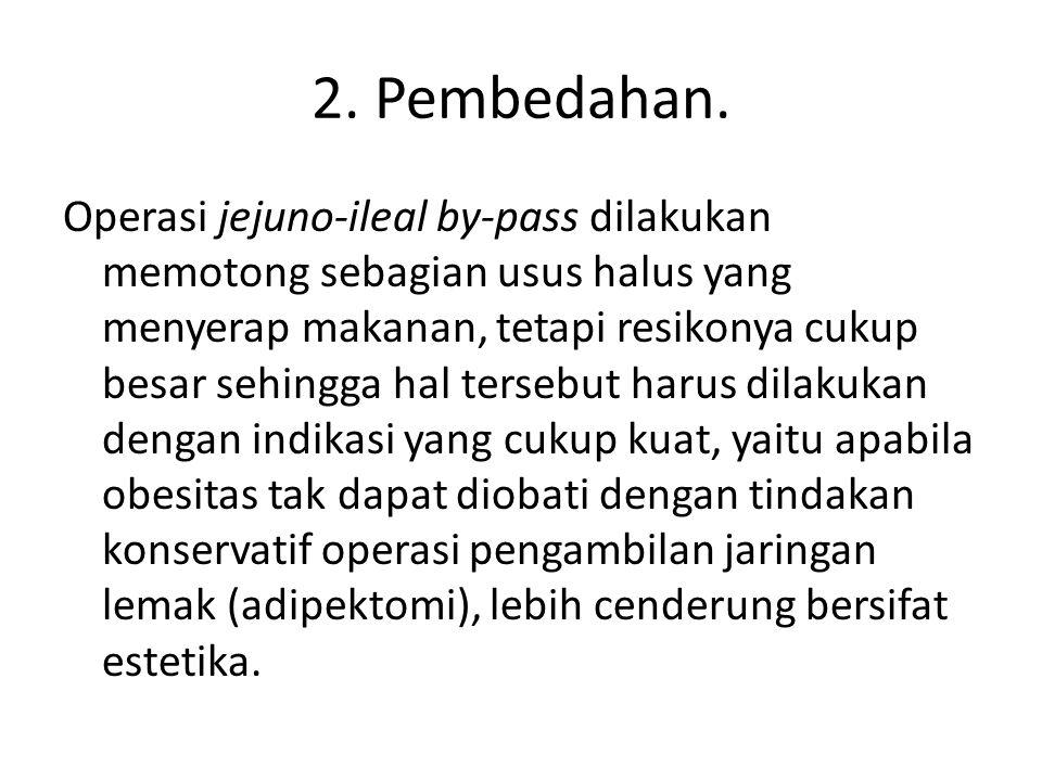 2. Pembedahan.