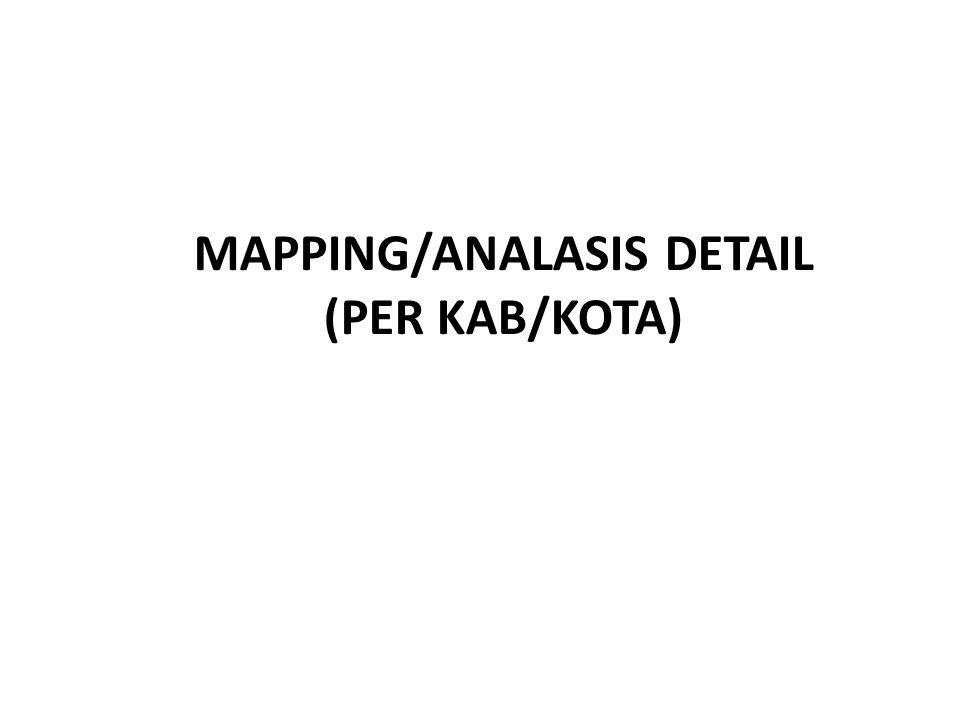 MAPPING/ANALASIS DETAIL (PER KAB/KOTA)