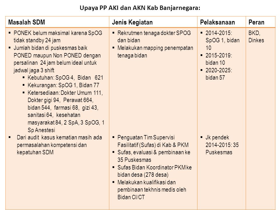 Upaya PP AKI dan AKN Kab Banjarnegara: